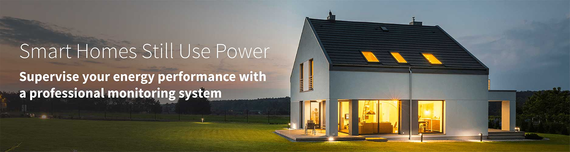 Example smart home with whole-home energy monitoring